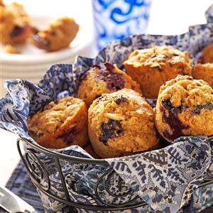 Blueberry-Bran Muffins Recipe