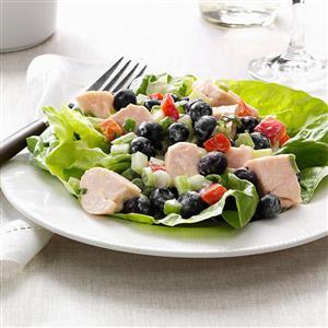 Blueberry Chicken Salad Recipe