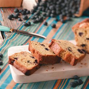 Blueberry-Citrus Mini Loaves Recipe