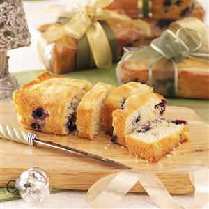 Blueberry Colada Mini Loaves Recipe