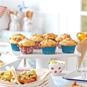 Blueberry-Filled Muffins Recipe