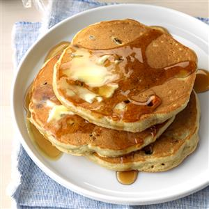 Blueberry Maple Sugar Pancakes Recipe