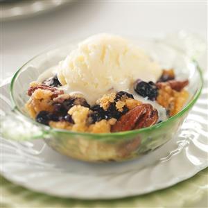 Blueberry-Pecan Crisp Recipe