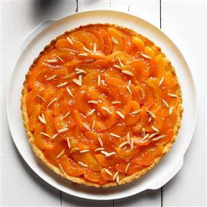 Brandied Apricot Tart Recipe