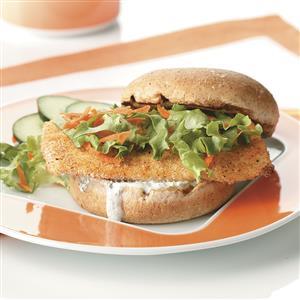 Breaded Fish Sandwiches for Two Recipe