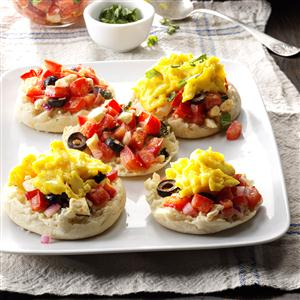 Breakfast Bruschetta Recipe
