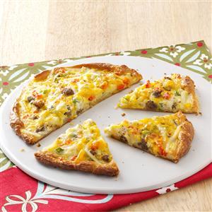 Breakfast Pizza for Two Recipe
