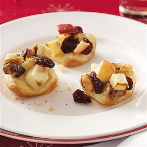 Brie-Apple Pastry Bites