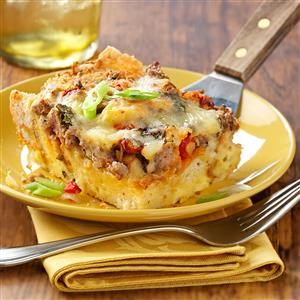 Brie and Sausage Brunch Bake Recipe