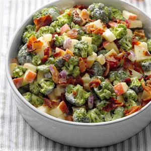 Broccoli & Apple Salad Recipe