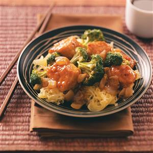 Broccoli Chicken Stir-Fry for Two Recipe
