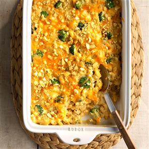 Broccoli Mac & Cheese Bake Recipe