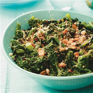 Broccoli Rabe with Tuscan Crumbs Recipe