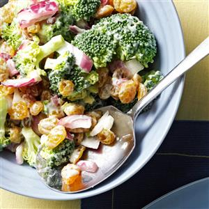 Broccoli Raisin Salad Recipe