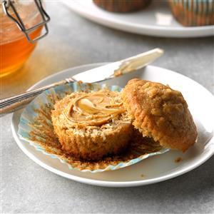 Brown Sugar Oat Muffins Recipe