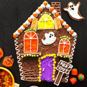 Brownie Haunted House Recipe