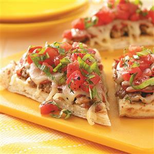 Bruschetta Pizza Recipe