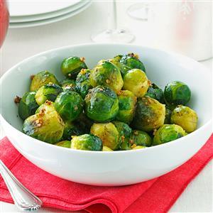 Brussels Sprouts with Garlic Recipe