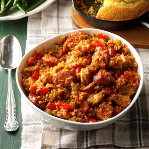 Bulgur Jambalaya Recipe