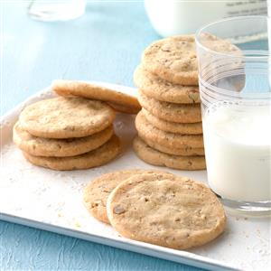 Butter Pecan Icebox Cookies Recipe