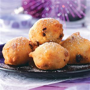 Buttermilk Berry Fritters Recipe