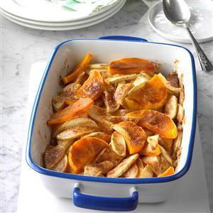 Butternut Squash Apple Bake