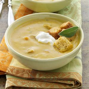Butternut Squash and Sausage Soup Recipe