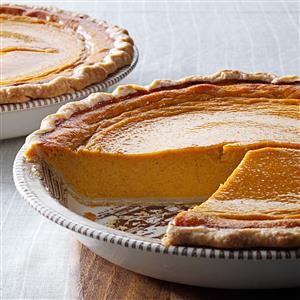 Butternut-Sweet Potato Pie Recipe