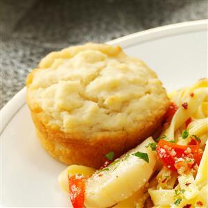 Buttery Sour Cream Muffins Recipe