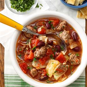 Cabbage and Beef Soup Recipe