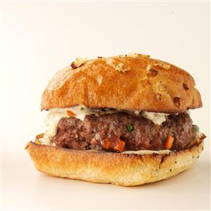 Cajun Beef Burgers Recipe