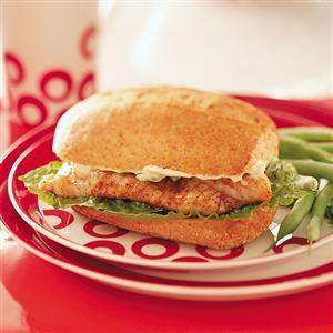 Cajun Catfish Sandwiches Recipe