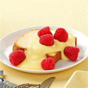 Cake with Lemon Sauce Recipe