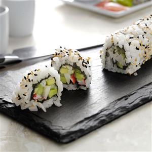 California Sushi Rolls Recipe