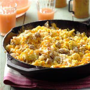 Campers breakfast hash recipe taste of home campers breakfast hash recipe forumfinder Images