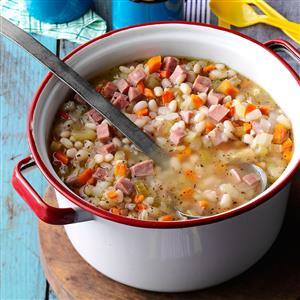 Campfire Bean 'N' Ham Soup Recipe