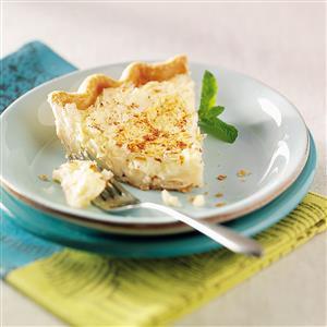 Can't Miss Coconut Custard Pie Recipe