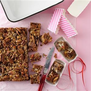 Candied Fruitcake Squares Recipe
