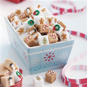 Candy Cane Sugar Cubes Recipe