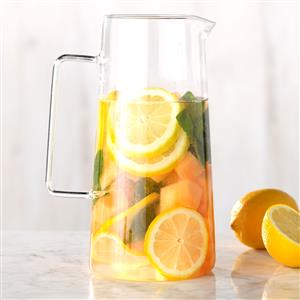 Cantaloupe, Mint and Lemon Infused Water Recipe