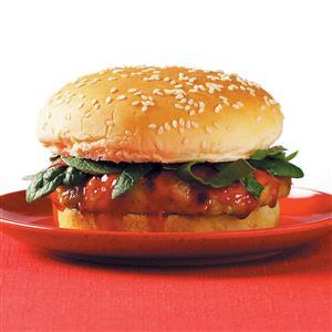 Cantonese Chicken Burgers Recipe