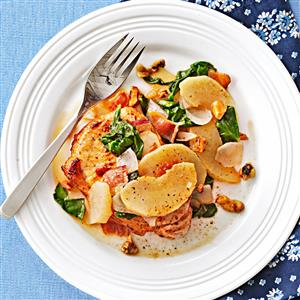 Caramel-Apple Pork Chops Recipe