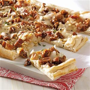 Caramelized Onion & Fig Pizza Recipe
