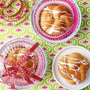 Cardamom Cinnamon Knots Recipe