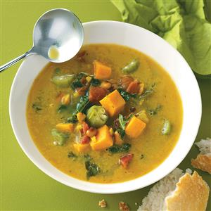 Caribbean Potato Soup Recipe