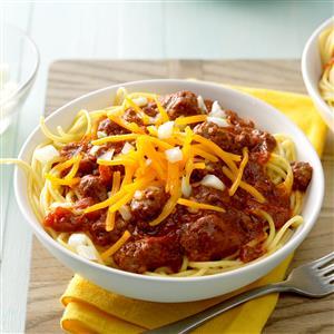 Carrie's Cincinnati Chili Recipe