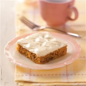 Carrot Cake Bars Recipe