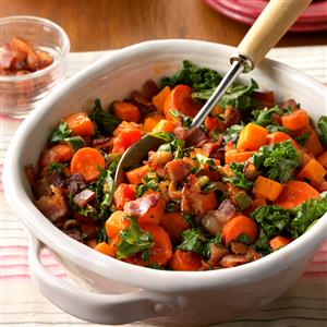 Carrot and Kale Vegetable Saute Recipe