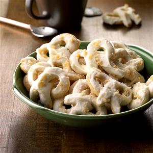 Cashew Ginger Cookie Twists Recipe