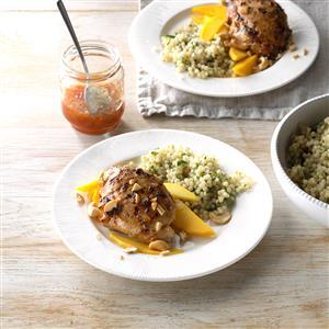 Cashew Mango Grilled Chicken Recipe